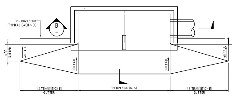 Side Entry Pit drawing