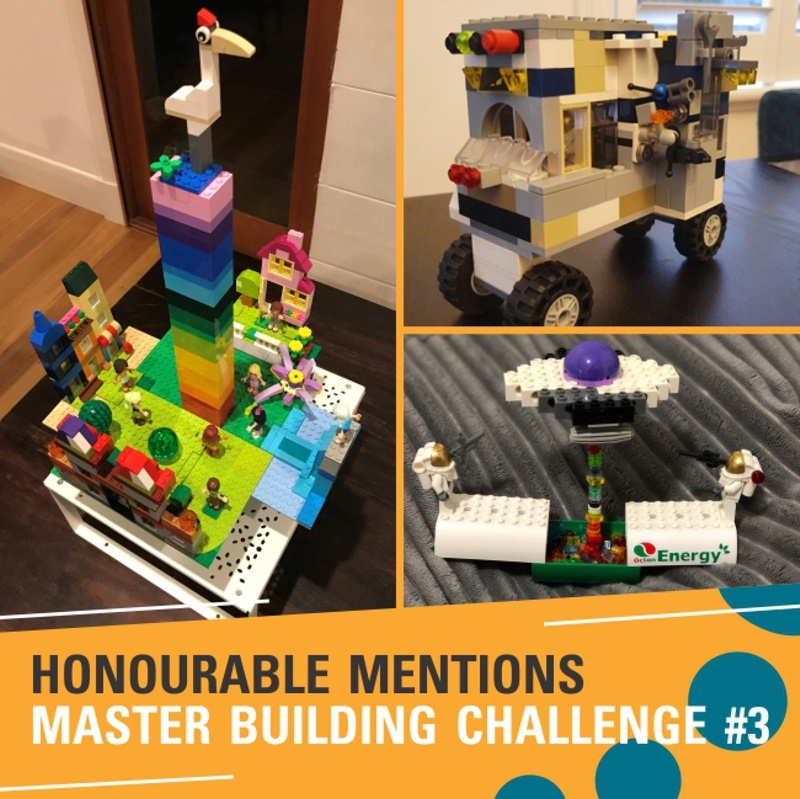 Honourable mentions Challenge #3 - Mia, Henry and Erin