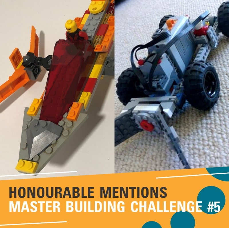Honourable mentions challenge #5 - Henry & Lucas