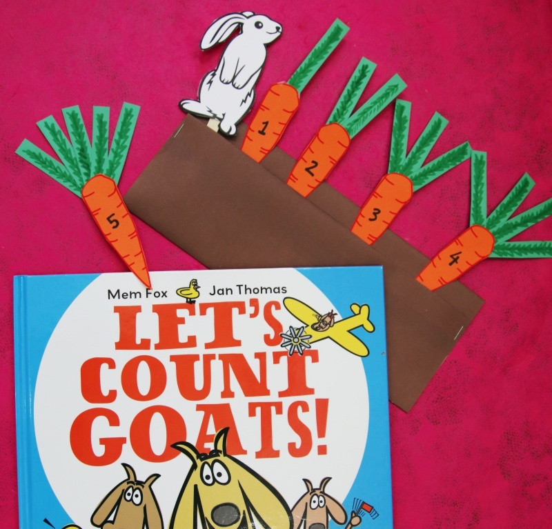 Storytime craft counting