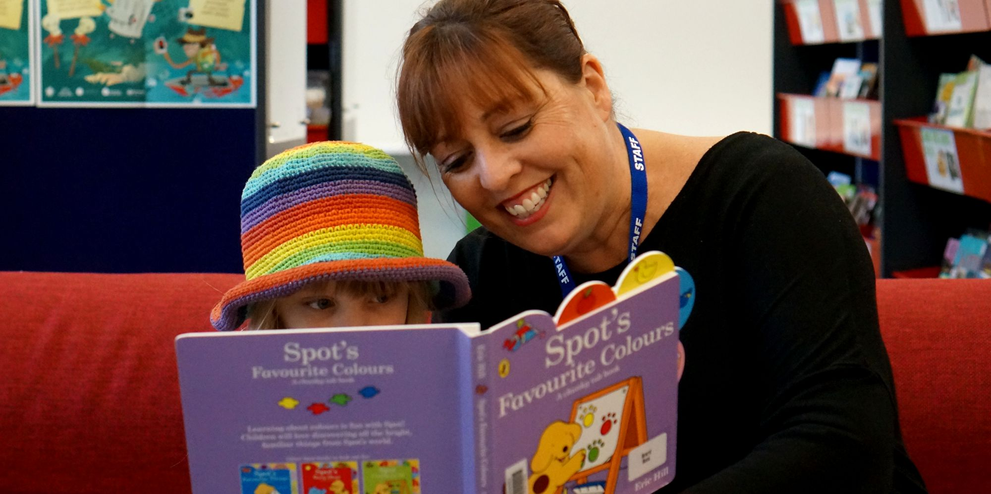 Reading to your child promotes early literacy